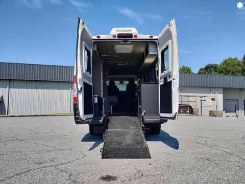 Pathway by MAXVAN on Promaster Chassis - Wheelchair RV - Ramp View