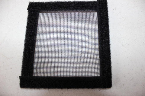 Standard insect screen material sample for Transit, Promaster and NV screens