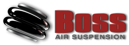 Boss Air Suspension logo on Promaster page