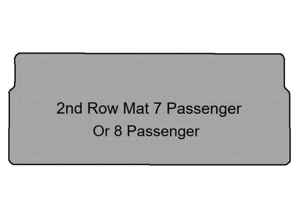 Metris Second Row Mat for 7 Passenger