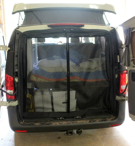Rear Door Insect Screen for the Metris Van