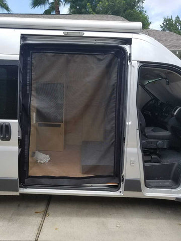 Promaster side door insect screen