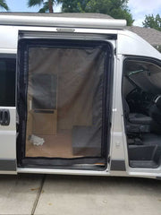 Promaster Van Slider Door Insect Screen Van Upgrades