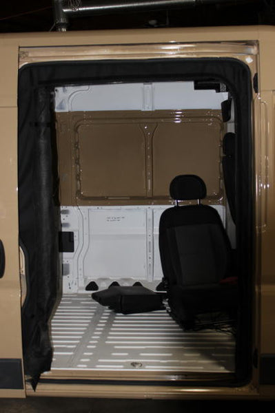 Promaster Van slider door screen open