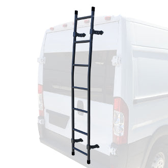 Promaster van rear access ladder