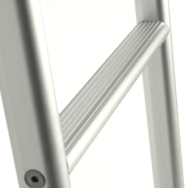 NV van rear ladder silver