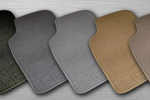 Berber Floor Mats for the Transit 12 Passenger or Cargo Van - 5 Colors