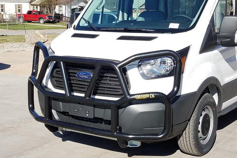 Grill Guard and Headlight Guard on Transit Van - Ex-Guard
