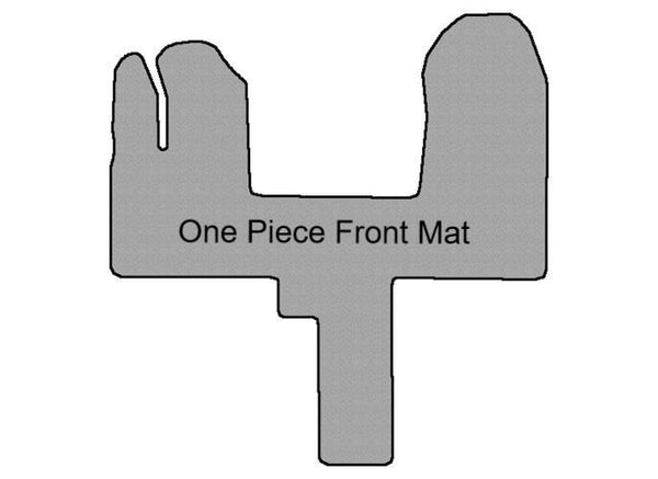 Transit one piece front mat