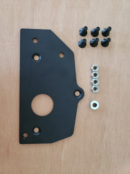 Transit park brake lowering kit - hardware out of bag