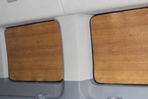 6 pc Transit wagon passenger window insulation med roof 30 wb example