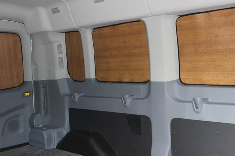 8 pc Transit wagon passenger window insulation med roof 148 wb