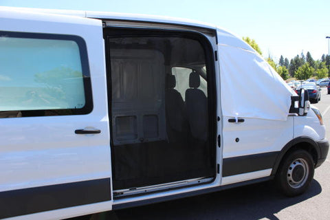 Ford Transit Van slider door insect screen
