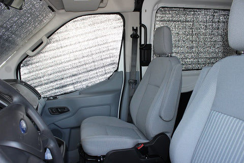 Promaster Cab Window Insulation - Photo of Transit set