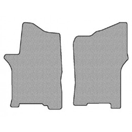 Two Piece Front Floor Mats for Nissan NV Full Size Van