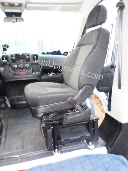 Ram Promaster seat swivel half turned