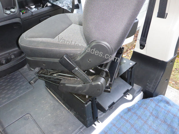 Ram Promaster seat swivel turning