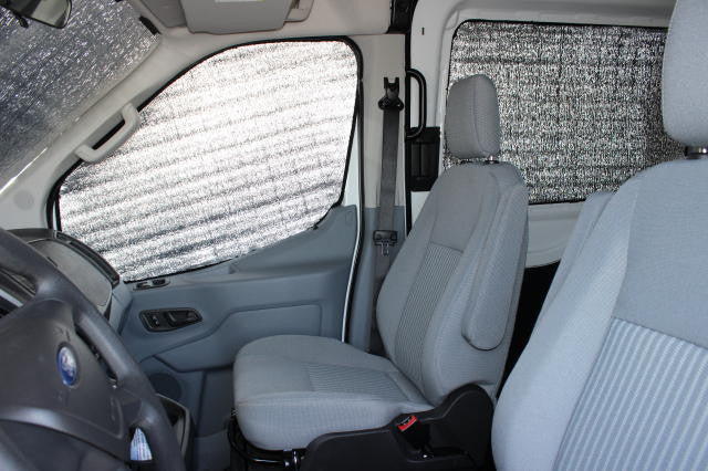 Nv Van Cab Window Insulation And Privacy Van Upgrades