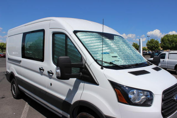 Transit Van Cab Window Insulation and Privacy Shade