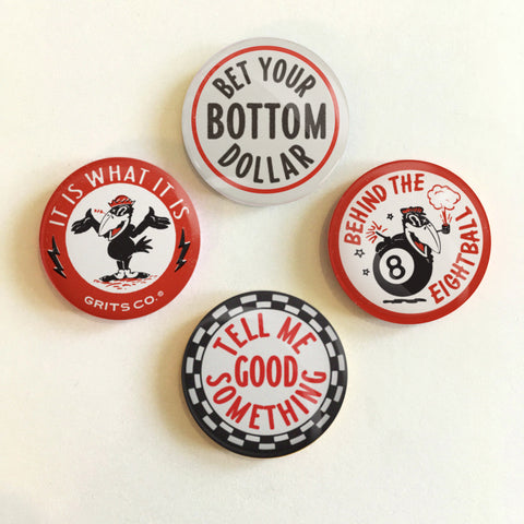 Grits Button Pack