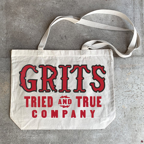 Grits Shop Tote - Red
