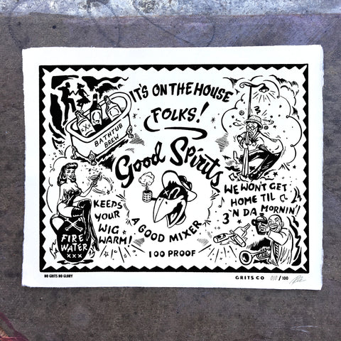 Good Spirits Lt. Ed. Print