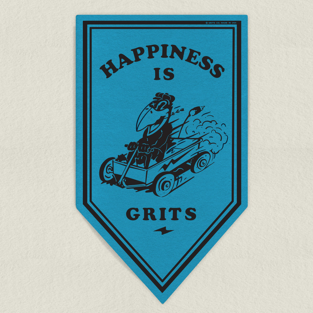 Happiness is Grits Banner