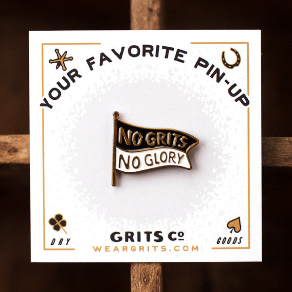 NGNG Lapel Pin - Grits Co.