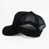 THE GRIND | BLK + GLD Trucker Hat