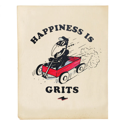 Happiness is Grits