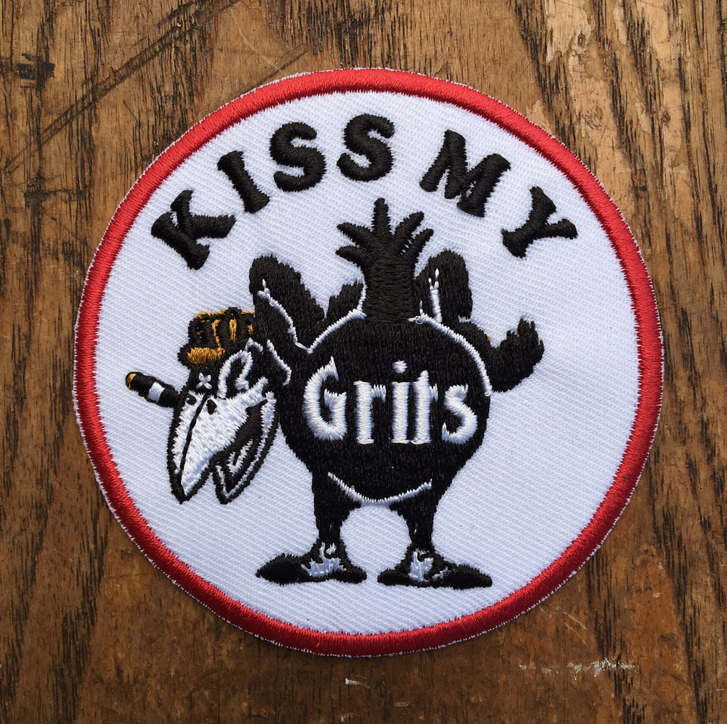 Kiss My Grits Patch