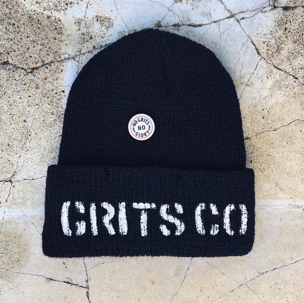 The Knit Grit - Navy