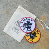 Kiss My Grits Patch - Grits Co.