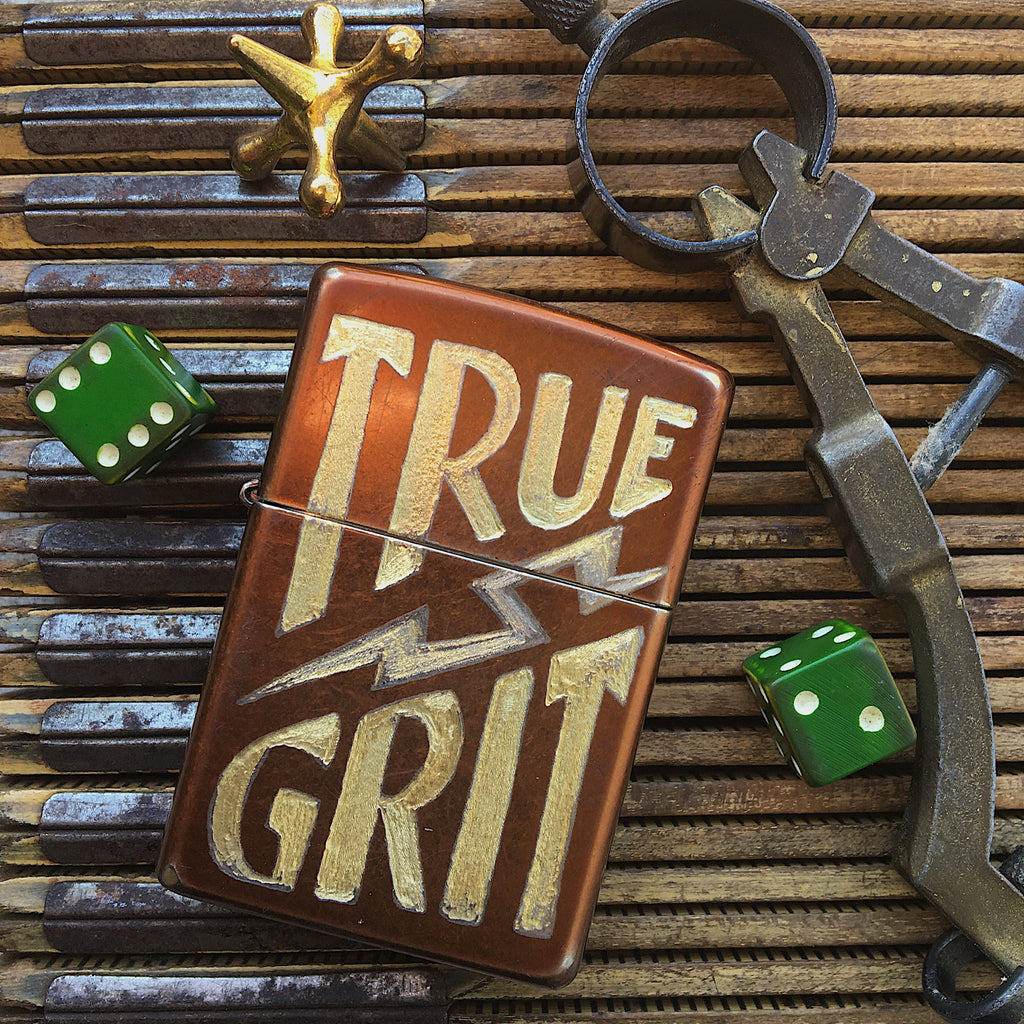 """TRUE GRIT"" Lighter"