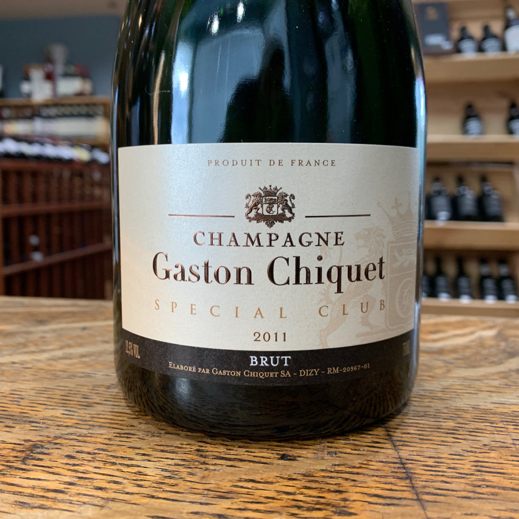 Champagne Gaston Chiquet Special Club Brut 2011