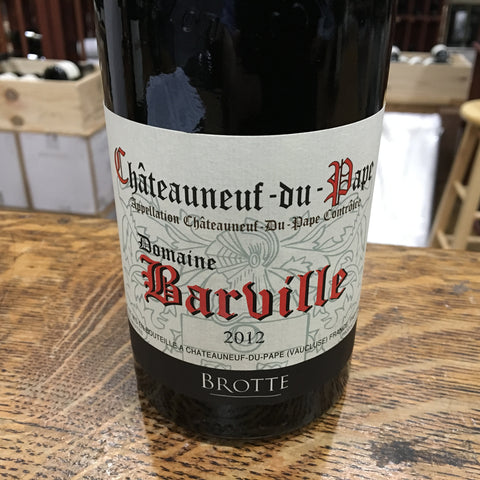 Domaine Barville Chateauneuf-du-Pape Rouge 2014 (Brotte)