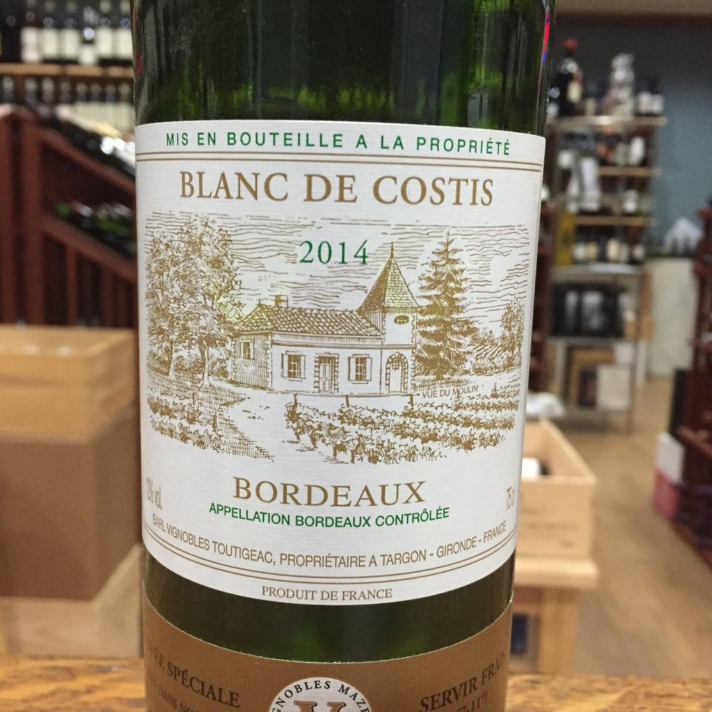 Chateau de Costis Bordeaux Blanc 2019
