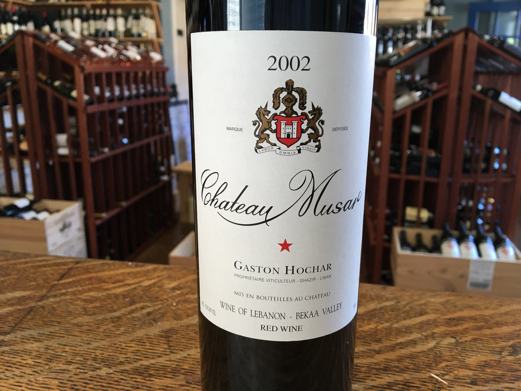 Chateau Musar Rouge 2002
