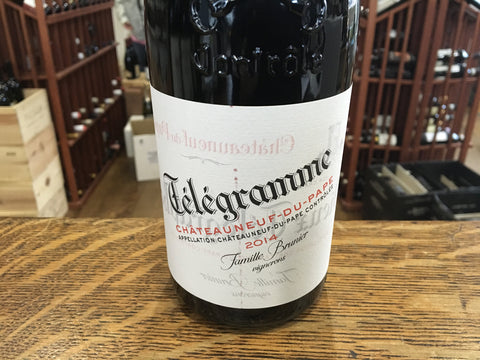 Telegramme Chateauneuf-du-Pape Rouge 2015