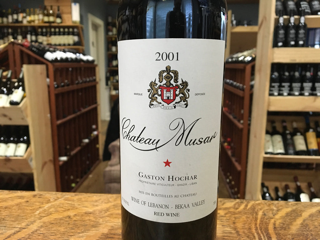 Chateau Musar Rouge 2001