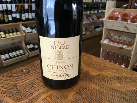 Pierre Sourdais Chinon Tradition 2016
