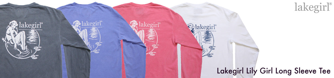 lakegirl lily girl long sleeve tee shirt