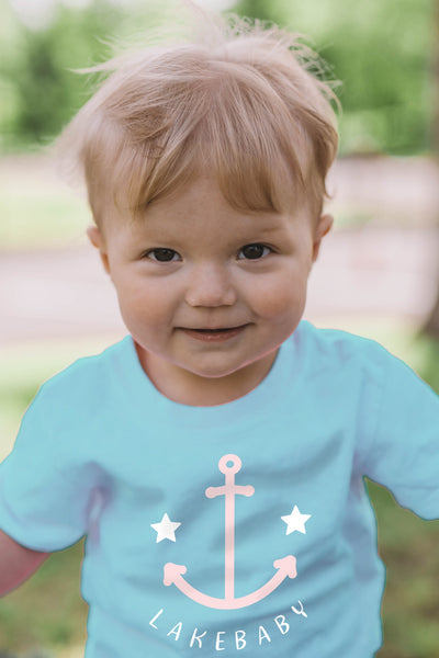 Lakebaby Starry Anchor Tee