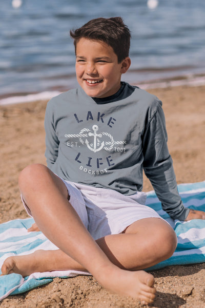 Dockboy Lake Life Long Sleeve Tee