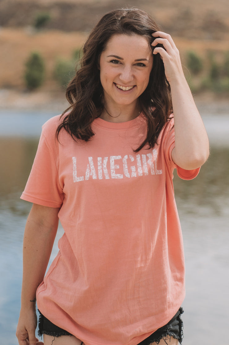 Melon Simply Lakegirl Tee