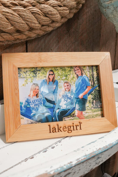 Lakegirl Picture Frame