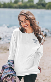Stars and Waves Long Sleeve Ringspun Tee