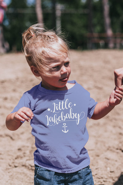 Lakebaby Dreamy Star Anchor Tee