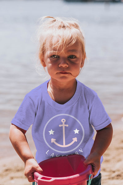 Lakebaby Roped Star Anchor Tee