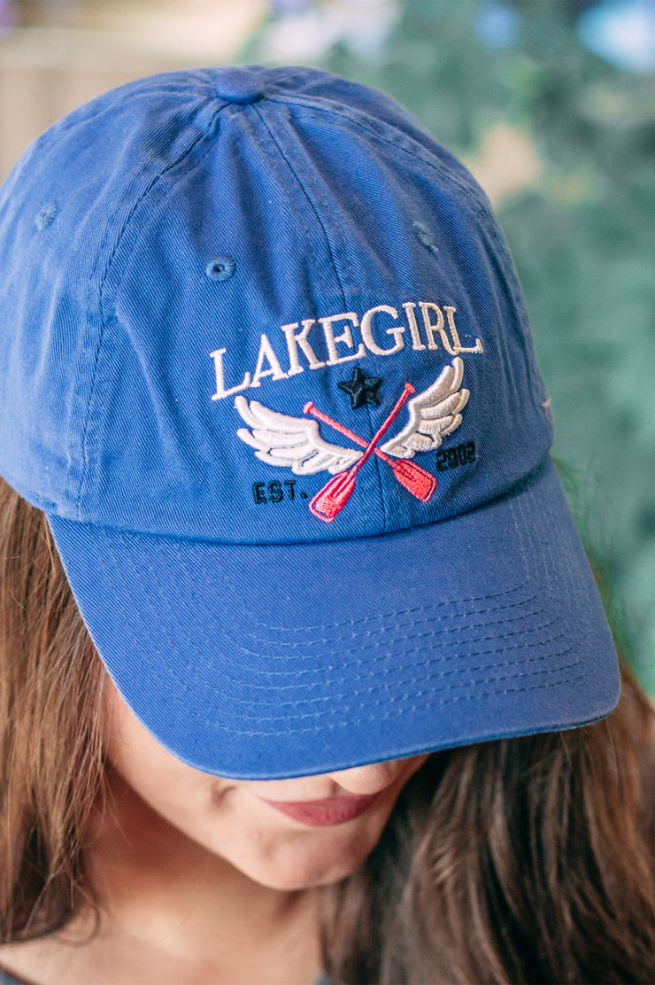Winged Paddle Twill Cap